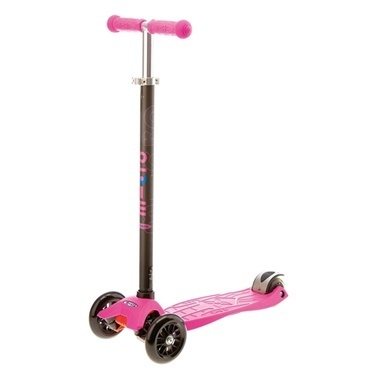 Micro Maxi Micro Scooter Pink With T-Bar Pembe